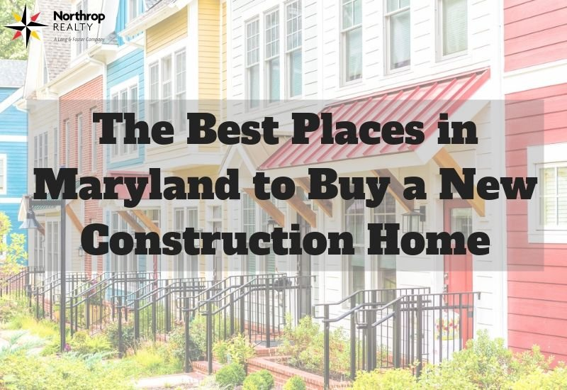 new homes in Maryland